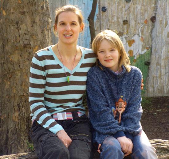 Jenny und Frau Held