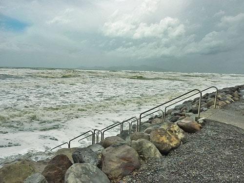 Sturm in Paekakariki